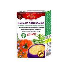 Каша 5 злаков с измельченными семенами тыквы, кунжута и льна 350г