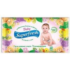 Салфетки влажные Super Fresh Baby №15