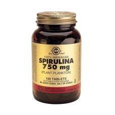 Спирулина таблетки Solgar 750 мг №100 - Фото