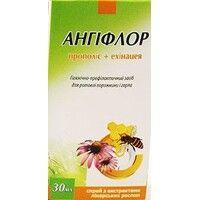 Спрей для полости рта Ангифлор прополис+эхинацея 30 мл - Фото