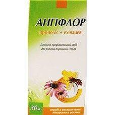 Спрей для полости рта Ангифлор прополис+эхинацея 30 мл