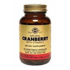 Натуральная клюква с витамином С капсулы №60, Солгар / Solgar®