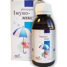 Імуно-Мікс фітосироп 100мл  - Фото