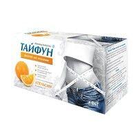 Фиточай для похудения Тайфун со вкусом апельсина фильтр-пакеты 2г №30 - Фото