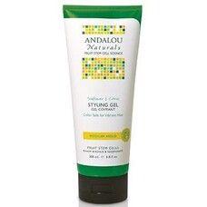 Гель для стайлинга и блеска волос Подсолнечник Цитрус ТМ Андалу Натуралс / Andalou Naturals 200 мл