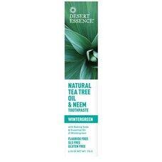 Зубная паста натуральная с маслом чайного дерева и дерева Ним - Гаультерия ТМ Дессерт Эссенс / Dessert Essence 176мл