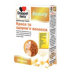 Доппельгерц Бьюти Красота и здоровье волос капсулы №30