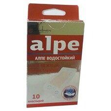 Пластырь бактерицидный нежный водостойкий ТМ Алпе / Alpe №10