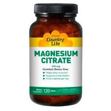 Цитрат магнію 250 мг 120 таблеток - Фото