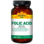 Фолиевая кислота (Folic Acid) 800 мкг таблетки №250 ТМ Кантри Лайф / Country Life - Фото
