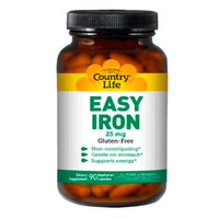 Минералы Easy Iron 25 мг 90 капсул ТМ Кантри Лайф / Country Life - Фото