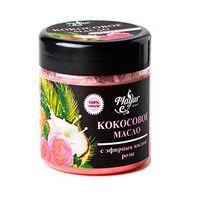 Кокосовое масло для лица и тела Роза 140 мл - Фото
