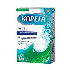 Корега Біо N30 таблетки для очищення зубних протезів  - Фото