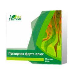 Пустырник форте капсулы 250 мг №30 - Фото