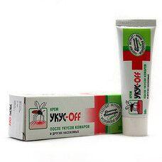 Укус-OFF крем после укусов комаров и прочих насекомых ТМ Биокон 30 г