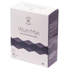 Vitum Man Фіточай протизапальний для чоловіків 25 пакетиків ТМ Альпен Апотек / Alpen Apotheke  - Фото