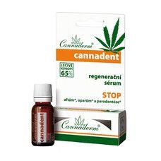 Сыворотка регенерирующая для ухода за губами и слизистой оболочкой рта Cannadent ТМ Каннадерм / Cannaderm 5 мл