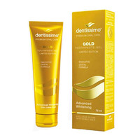 Зубная паста Advanced Whitening Gold ТМ Dentissimo, 75 мл