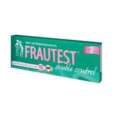 Тест-полоска для определения беременности Frautest Double control