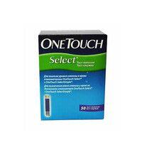 Тест-полоски One Touch Select №50 - Фото