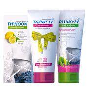 Набор для похудения Тайфун №1 (Чай Лимон+Крем+Гель) - Фото