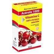 Вітамін'22 АЦЕРОЛА 1000 Вітамін С натуральний 24 таблетки - Фото