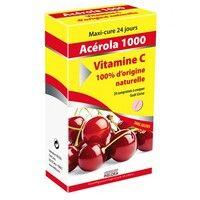 Витамин'22 АЦЕРОЛА 1000 Витамин С натуральный 24 таблетки - Фото