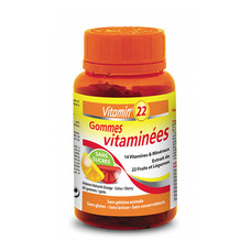 Витамин'22 Гамиз мультивитамины 60 жевательных таблеток