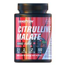 L-цитрулін 300г Лісові ягоди ТМ Вансітон / Vansiton - Фото