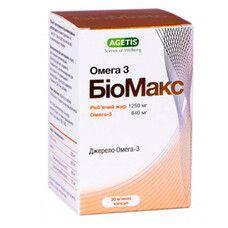 БиоМакс Омега-3 капс. №30 фл.