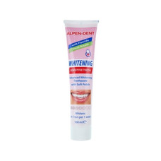 Відбілююча зубна паста для чутливих зубів Alpen-Dent 100мл - Фото