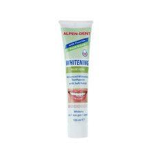 Відбілююча зубна паста з Алое Вера Alpen-Dent 100мл - Фото