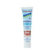 Відбілююча зубна паста від нальоту і зубного каменю Alpen-Dent 100мл - Фото