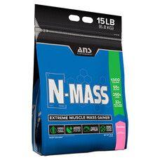 Гейнер ANS Performance N-MASS US Клубника 6,8 кг - Фото