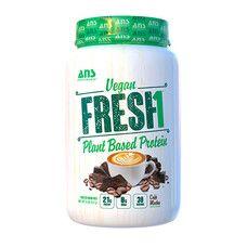 Веганський протеїн зі смаком Кави Мокко ANS Performance Fresh 907 г - Фото