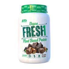 Веганський протеїн зі смаком Шоколаду з фундуком ANS Performance Fresh 907 г - Фото