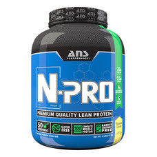 Комплексный протеин ANS Performance N-PRO Premium Protein банановый крем 1,81 кг