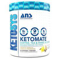 ANS Performance KETOMATE добавка для кофе, чая и шейка Французская ваниль 293 г