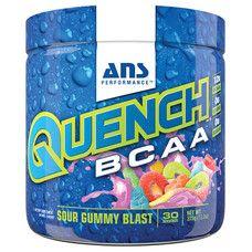 Аминокислоты ANS Performance QUENCH BCAA Кислый мармеладный взрыв 375 г
