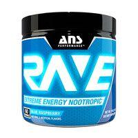 Предтренировочный комплекс ANS Performance Rave Extreme Energy Nootropic US голубая малина 210 г