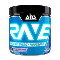 Предтренировочный комплекс ANS Performance Rave Extreme Energy Nootropic US розовый лимонад 210 г
