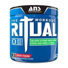 ANS Performance предтренировочный комплекс Ritual Pre-Workout фруктовая смесь 270 гр