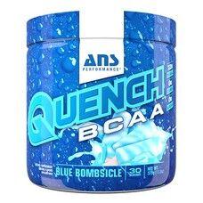 Амінокислоти ANS Performance QUENCH BCAA Блакитний вибуховий фруктовий лід 375 г - Фото