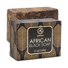 Африканское черное мыло 140 г - Фото