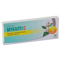 Мукалти С таблетки №10 - Фото