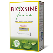 Биоксин Фемина растительный шампунь против выпадения для жирных волос 300 мл
