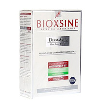 Биоксин ДермаДжен растительный шампунь против выпадения для нормальных и сухих волос 300 мл