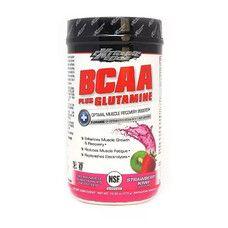 BCAA з глютаміном Extreme Edge BCAA + Glutamine Powder зі смаком полуниці та ківі 375 г - Фото