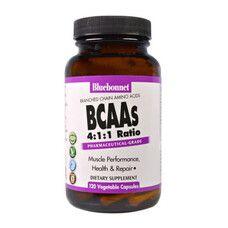 BCAAs Розгалужені Ланцюги Амінокислот 120 гелевих капсул - Фото