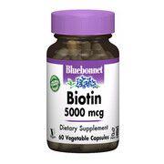 Биотин (B7) 5000 мкг 60 гелевых капсул - Фото